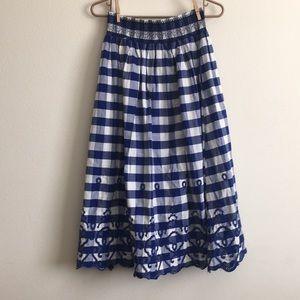 Gangnam style skirt from Zara.